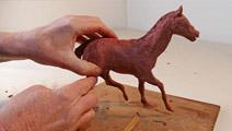 A sculpture near you - Startled Horse