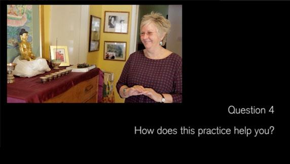 Video 4, Question..How does the practice help you?
