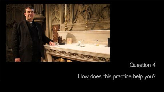 Video 8, Question..How does the practice help you?
