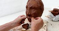 Make a clay head